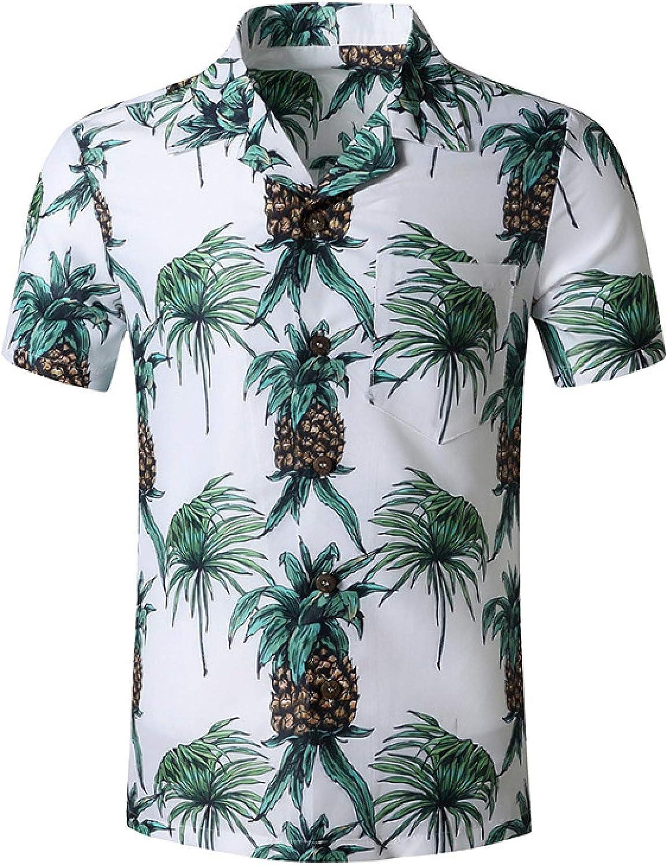Very popular Popular Luandge Men's Hawaiian Shirt Trend Casual T Comfortable Printing