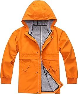 Boys' Hooded Outdoor Jacket Coat