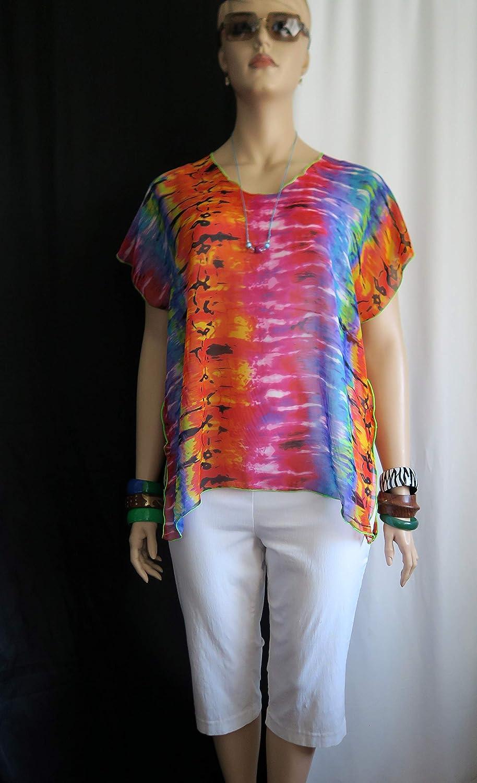 Hawaiian Weekly update Anuenue rainbow Sheer Women's Polynesian Oakland Mall Clothing Tro