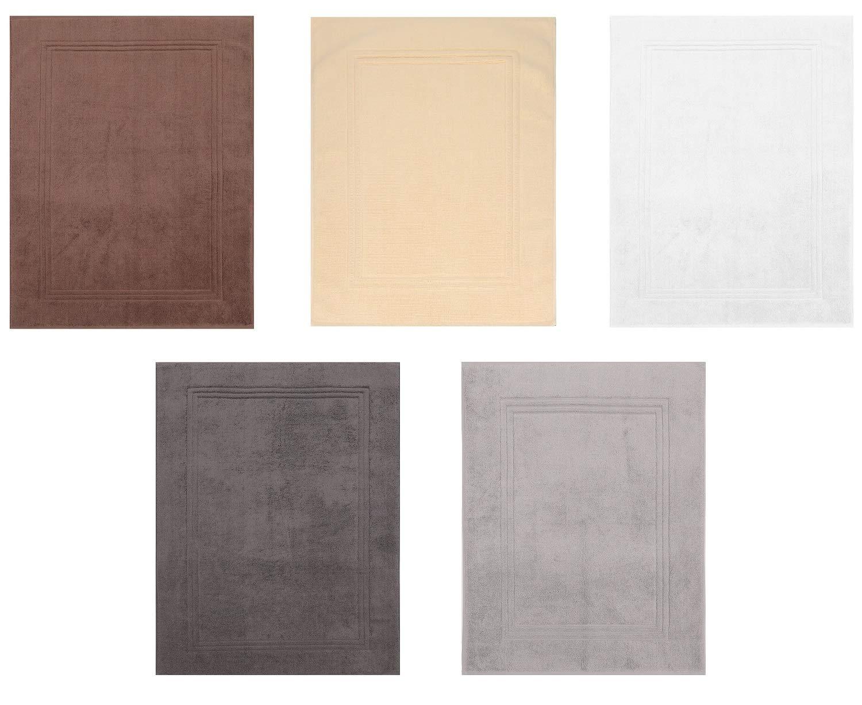 Colore: Marrone Noce qualit/à: 950g//m/² Betz Scendibagno Gold Misure: 50 x 70 cm 100/% Cotone