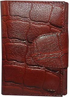 Laveri Red Leather For Women - Trifold Wallets