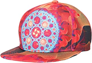 Doitsa 1pcs Casquette Chapeaux de Baseball Unisexe Cap Hip Hop Chapeau de Soleil Sports et Loisirs Oeil Psych/éd/élique Colorful