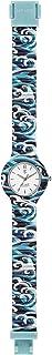 HIP HOP - Orologio da Donna, Collezione I LOVE JAPAN, Quadrante Mono-Colore Bianco, Impermeabile, Cinturino in Silicone