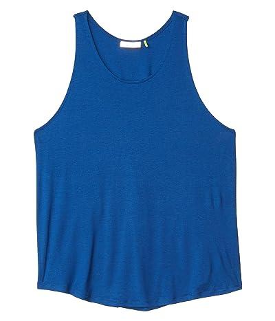 tasc Performance Twist Back Tank Top (True Blue) Women