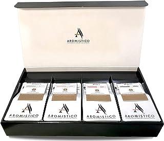 Aromistico - Italian Variety Coffee Bean Bag Set of 4 x 200g Premium Coffee Samplers (Roma, Venezia, Napoli, and Firenze)