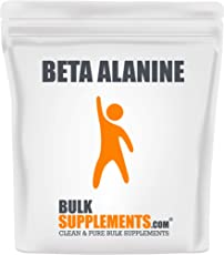 BulkSupplements.com Beta Alanine - Vegan Pre Workout - Beta Alanine Powder - Pre Workout Supplement (500 Grams - 1.1 lbs - 833 Servings)