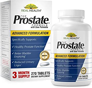 Real Health Laboratories The Prostate Formula with Saw Palmetto, 270 Tablets