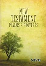 NIV, New Testament with Psalms and Proverbs, Pocket-Sized, Paperback