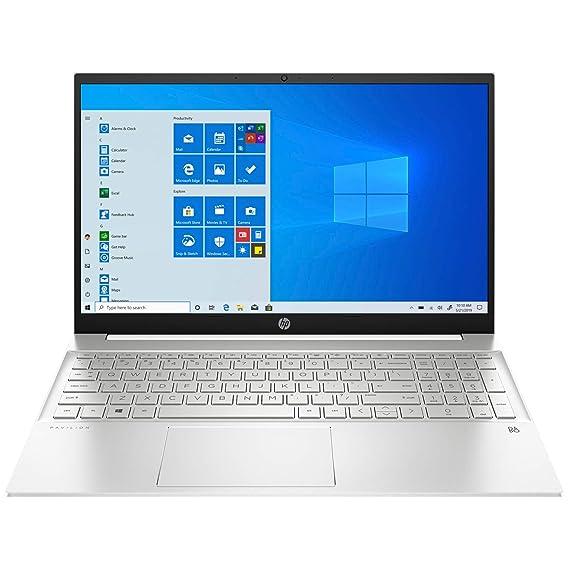 HP Pavilion 11th Gen Intel Core i5 Processor 15.6-inch FHD Laptop with Alexa Built-in (16GB/512GB SSD/Win 10/MS Offce/2GB NVIDIA MX450 Graphics/Ceramic White/1.75 Kg), 15-eg0124TX