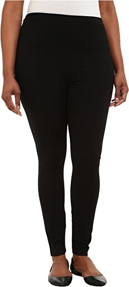 Plus Size Ponte Legging w/ Center Seam 15190