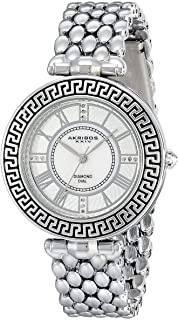 Akribos XXIV Women's Mother of Pearl Dial Metal Band Watch