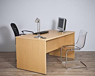Top Kit   Mesa Oficina Jarama 9001 (Ancho 160cm) - 160 x 75 x 80   Roble