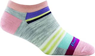 Darn Tough Modern Stripe No Show Light Socks - Women's