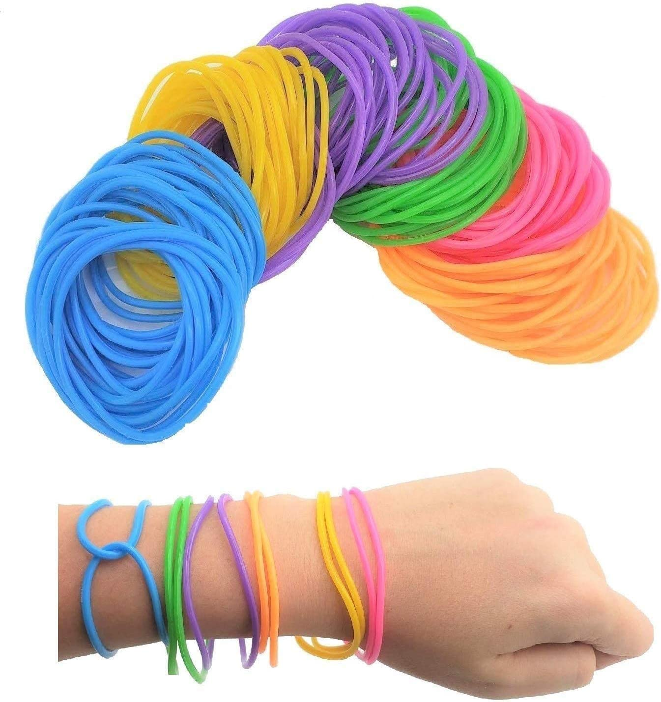 Zugar Land Latest item 80s Colorful Neon Stretchable 7