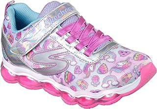 Skechers Kids' Glimmer Lights-Sparkle Dreams Sneaker