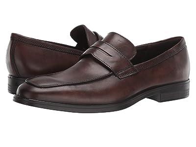 ECCO Melbourne Loafer (Cocoa Brown) Men