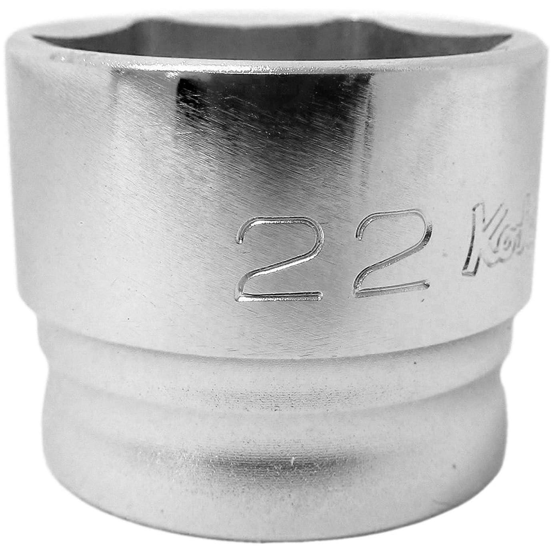 松までカストディアンコーケン Z-EAL 3/8(9.5mm)SQ. 6角ソケット 22mm 3400MZ-22