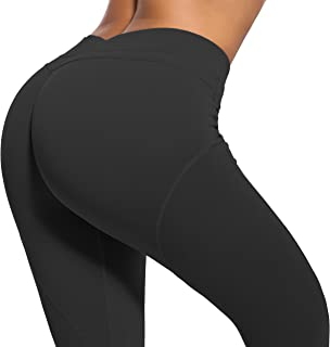 RUNNING GIRL Butt Lift Leggings Scrunch Butt Push Up...