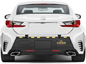 GOLD EDITION Bumper Bully Extreme - The Ultimate Outdoor Bumper Protector, Rear Bumper Guard, Extreme Bumper Protection, STEEL REINFORCED STRAPS PREVENT THEFT !