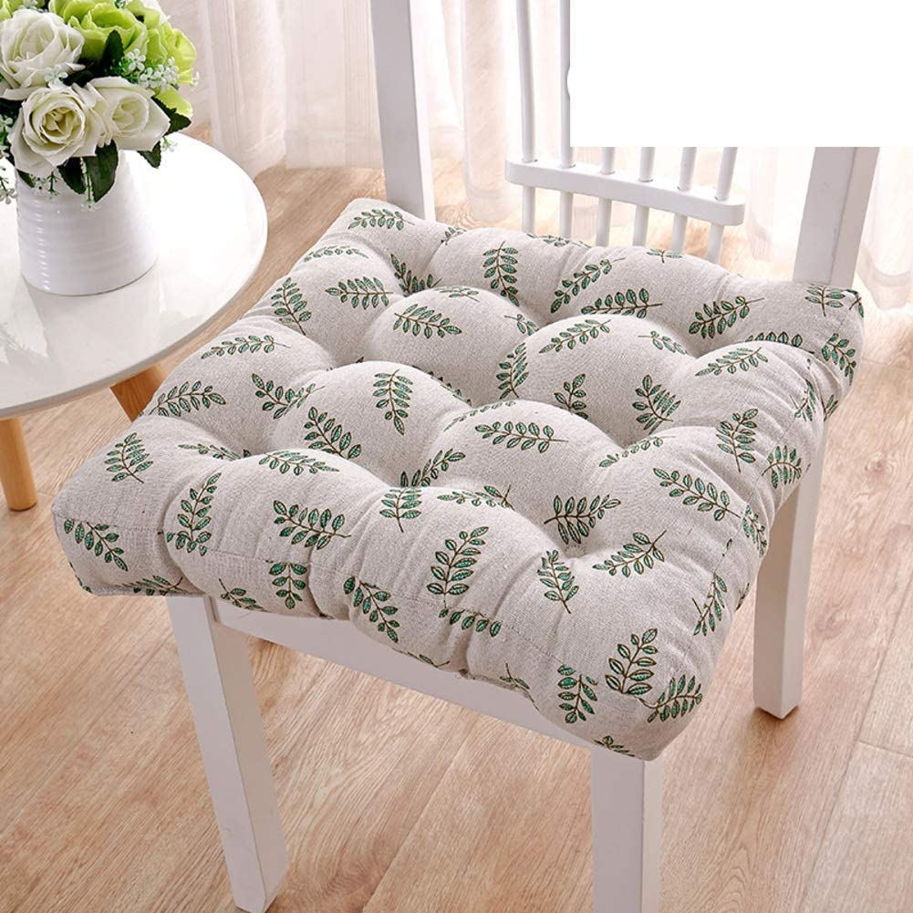 erddcbb Plush Thicken Chair Pad Cushion National uniform free shipping Outdoor Seat pad Tufted A surprise price is realized