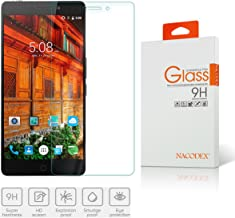 Elephone P9000 / Elephone P9000 Lite Tempered Glass, [1 Pack] Nacodex Ballistic HD Tempered Glass Screen Protector Film for Elephone P9000 / Elephone P9000 Lite