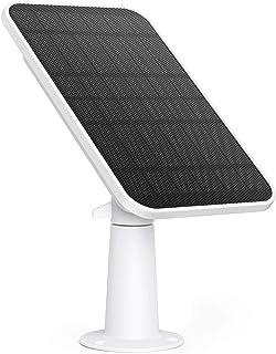 eufy Security gecertificeerd eufyCam zonnepaneel, compatibel met eufyCam, continue stroomvoorziening, 2,6 W zonnepaneel, I...