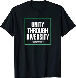 Mens LRG Unity Through Diversity T-Shirt