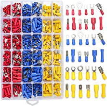 900x Assorted Insulated Electrical Wire Terminal Crimpverbinder Spade Set Kit TS