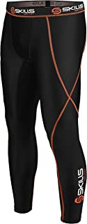 Skills Men's Compression Armor Base layer Under Armour Pants Tights, Gym, Yoga, Fitness