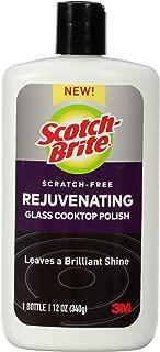 Scotch-Brite Scratch-Free Rejuvenating Glass Cooktop Polish, Leaves a Brilliant Shine, 12 Ounces