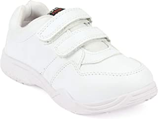 schoolfun Boys & Girls White School Shoes