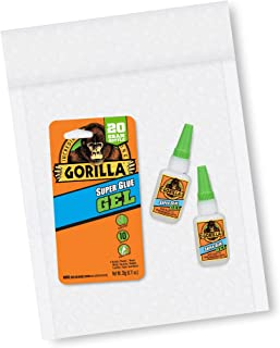 Gorilla 7700108 20 Gram 2-Pack Super Glue Gel Clear
