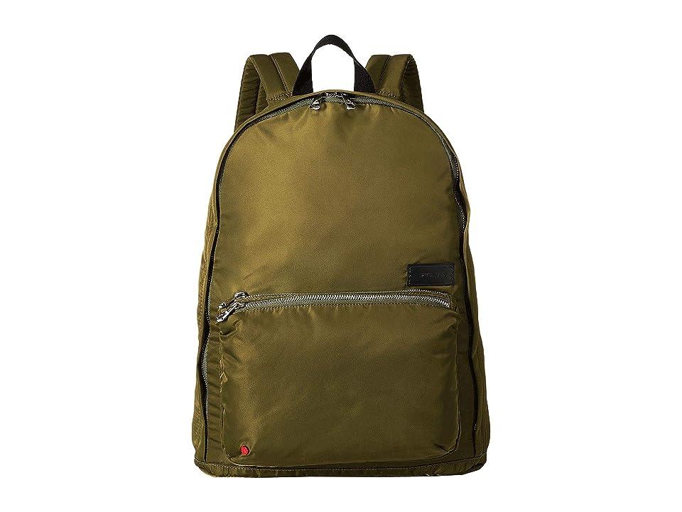 STATE Bags Nylon Lorimer Backpack (Olive/Black) Backpack Bags