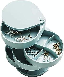 QWEA Panier Rangement,casier Rangement,Organiseurs de tiroir sont en résine ABS,Classification Quatre Couches,Rotatif 360 ...