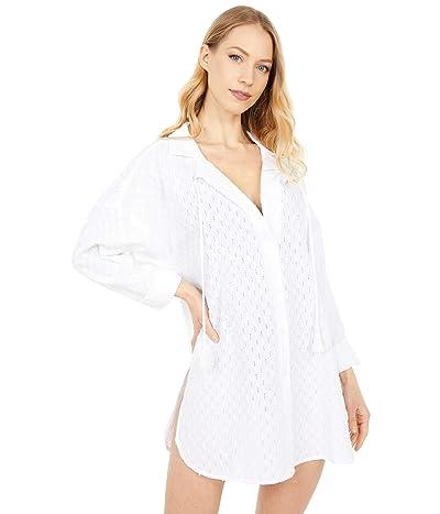 La Blanca Mandala Shirtdress Cover-Up