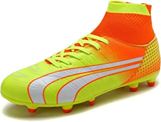 DREAM PAIRS Men's Fashion Cleats Football Soccer Shoes