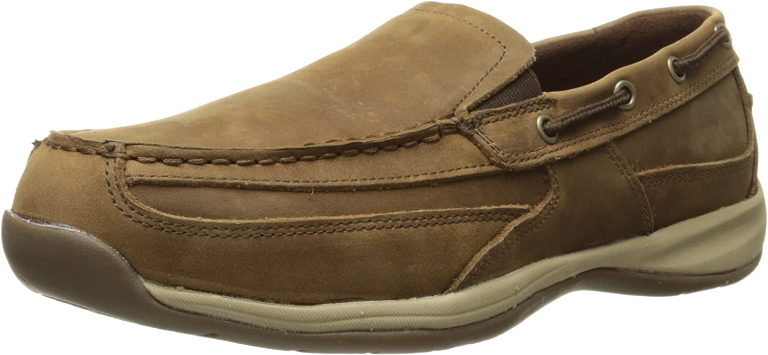 Rockport Work Men's Sailing Club RK6737 Slip On Boat shoes