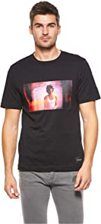 Calvin Klein T-Shirts For Men, XL, Black