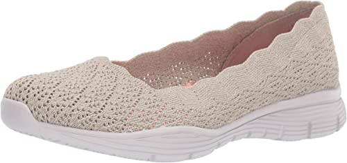 Skechers49620 - Seager Seager Seager - Infield - Tricot Point de Coquille - Skimmer Femme 403
