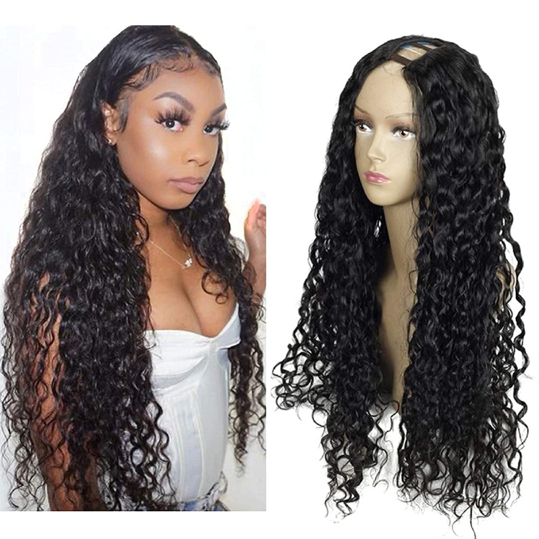 Deep Very popular! Wave supreme 1x3 U Part Wigs for Black Human Hair Women