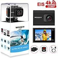 WONGKUO 4K 20MP Ultra HD EIS Anti-shake Sport Action Camera