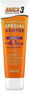 Anaca3 – Crème Minceur Spécial Ventre – Amincit dans 100 % des Cas Testés* – Résultats Prouvés*– 150 ml