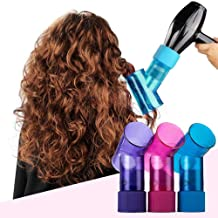 MODEOR Wavy Hair Curler Creative Salon Styling Hair Dryer Diffuser for Curly Wavy Permed Hair, Hair Curler Roller Styling Tool for Woman (Purple)
