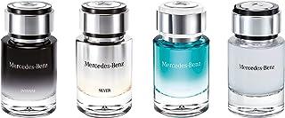 Mercedes Benz for Men Eau de Toilette 4 X 7ml Mini (For Intense+For Silver+Cologne+For Men) Set