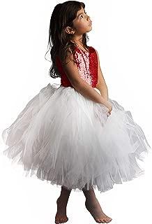 AbaoSisters Sequin Flower Girl Sleeveless Princess Birthday paty Dress 2-12 Years