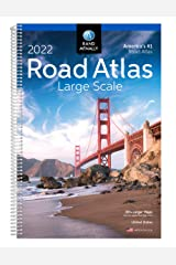 Rand McNally 2022 Large Scale Road Atlas Spiral-bound