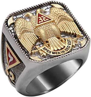 double headed eagle 32 ring