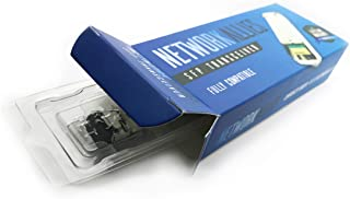 Network Allies Mini-GBIC SFP Transceiver Module 1g - LC 1000Base-SX, Model MGBSX1 - Linksys and Cisco Compatible - 850nm, 550m - Fastest Transfer Rates, Easy to Install Guaranteed