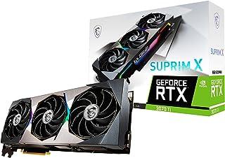 MSI GeForce RTX 3070 Ti SUPRIM X 8G Next GEN Graphics Card Limited Edition