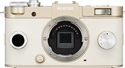 Pentax Q System Q-S1 12.4MP Compact System Camera with 3-Inch LCD (Gold) Body only